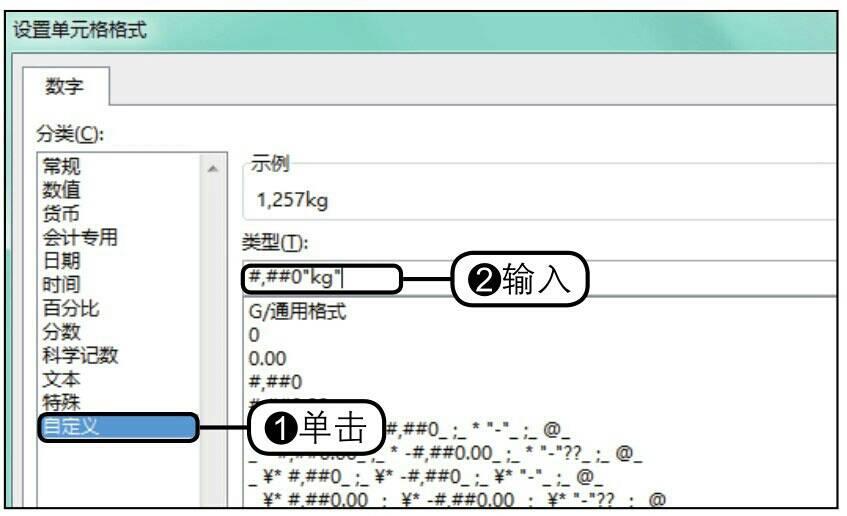 步骤08设置数字格式