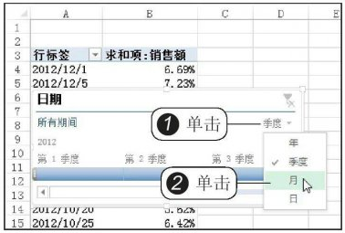 数据透视表中怎么插入日