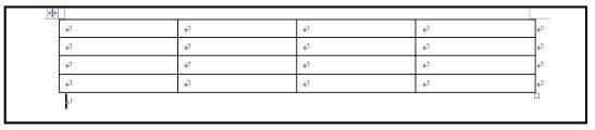 显示被选中的表格的行数和列数